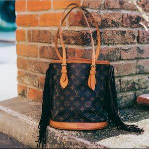 Louis Vuitton Bucket PM Tote Bag